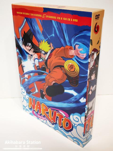 Naruto DVD BOX 6 - SelectaVisión
