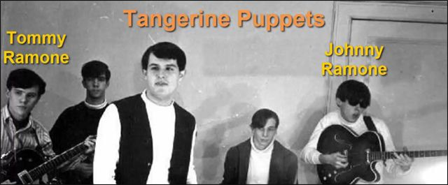 Ramones en la Banda Tangerine Puppets