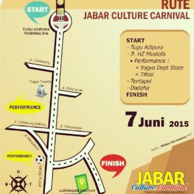Rute Jabar Culture Carnival 2015