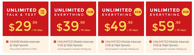 red pocket prepaid cell phone plans