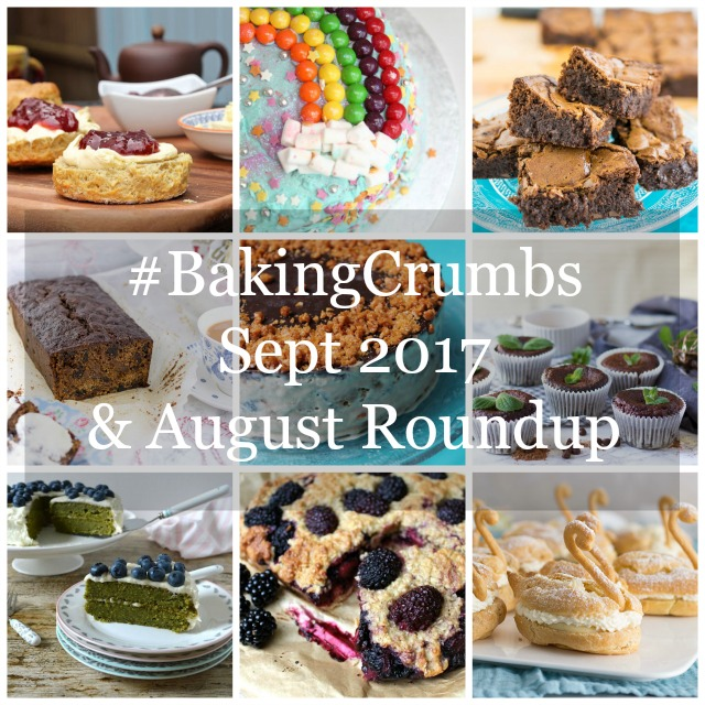 Delicious baked goods for #BakingCrumbs linky, August round up