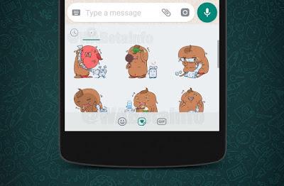 Tak Mau Ketinggalan dan Line dan Telegram, WhatsApp Ikutan Bikin Stiker