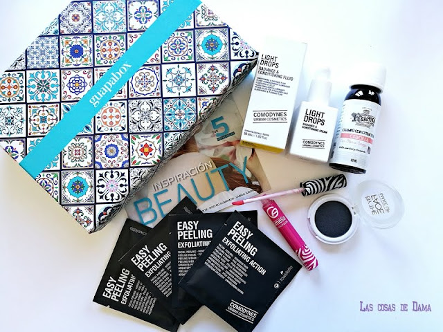 Guapabox Abril Primavera Beauty box comodynes maquillaje cosmetica