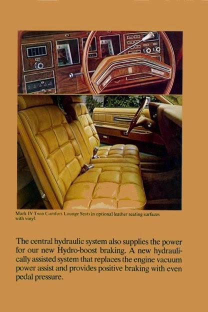Lincoln Continental Mark IV LIPSTICK Edition 1975   STUURMAN CLASSIC
