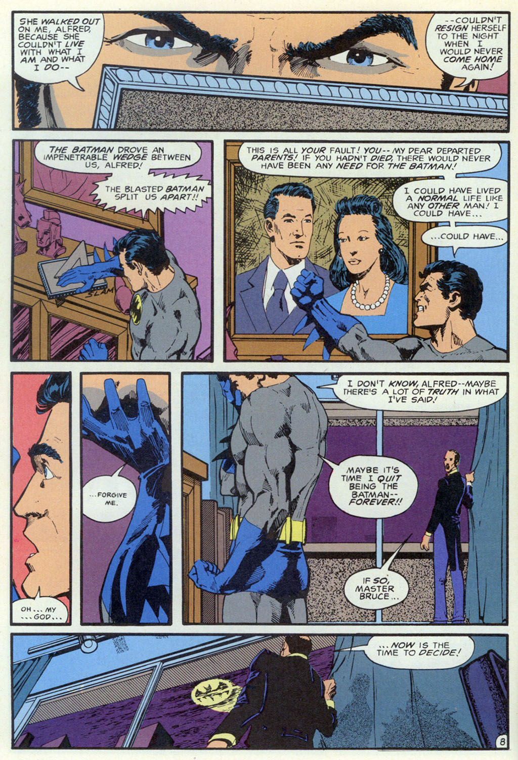 Read online Shadow of the Batman comic -  Issue #5 - 11