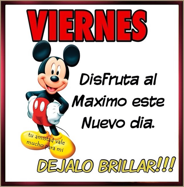 viernes mickey mouse