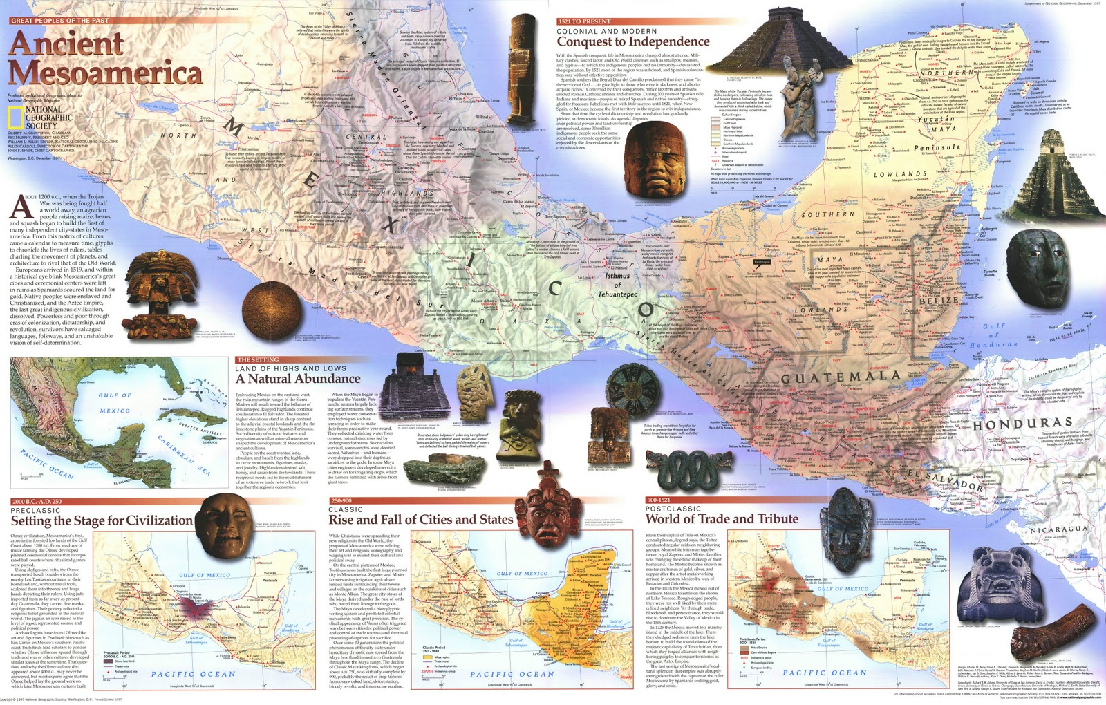 Ancient Mesoamerica By National Geographic