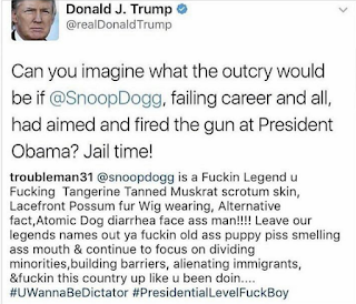 Trump Vs Snoop Dogg Twitter War