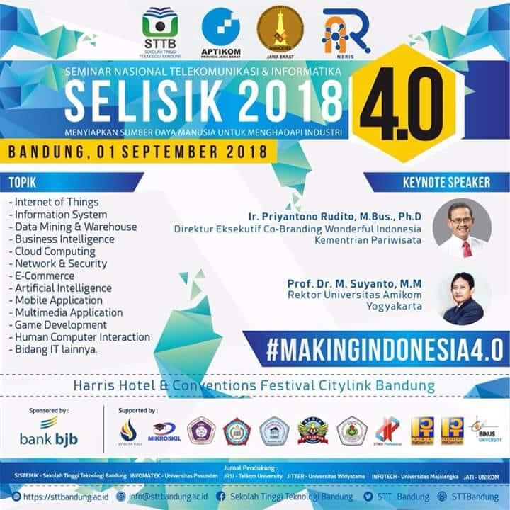 SELISIK 2018: Menuju Indonesia 4.0
