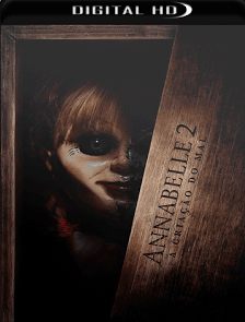 Annabelle 2 – A Criação do Mal 2017 Torrent Download – BluRay 720p e 1080p Dublado / Dual Áudio