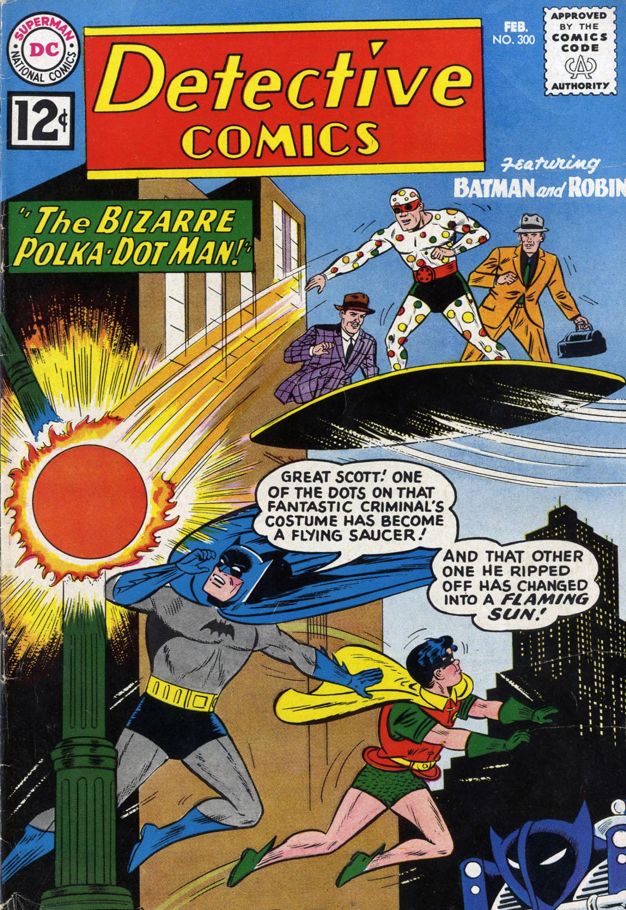 Detective Comics (1937) 300 Page 1