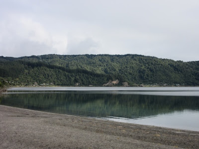 Lago Rotoma, Nueva Zelanda