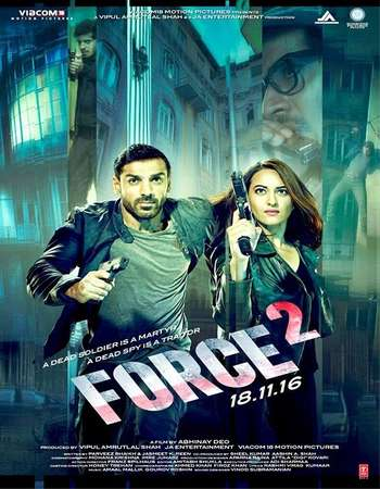 Poster Of Force 2 2016 Hindi 720p DVDRip ESubs Watch Online Free Download downloadhub.in
