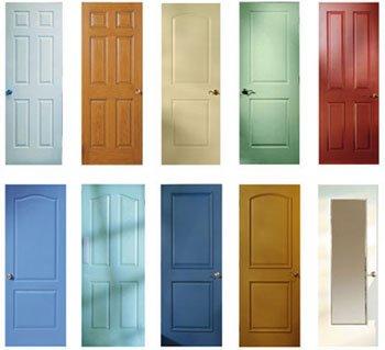 Puertas de madera puertas madera for Colores para pintar puertas de interior
