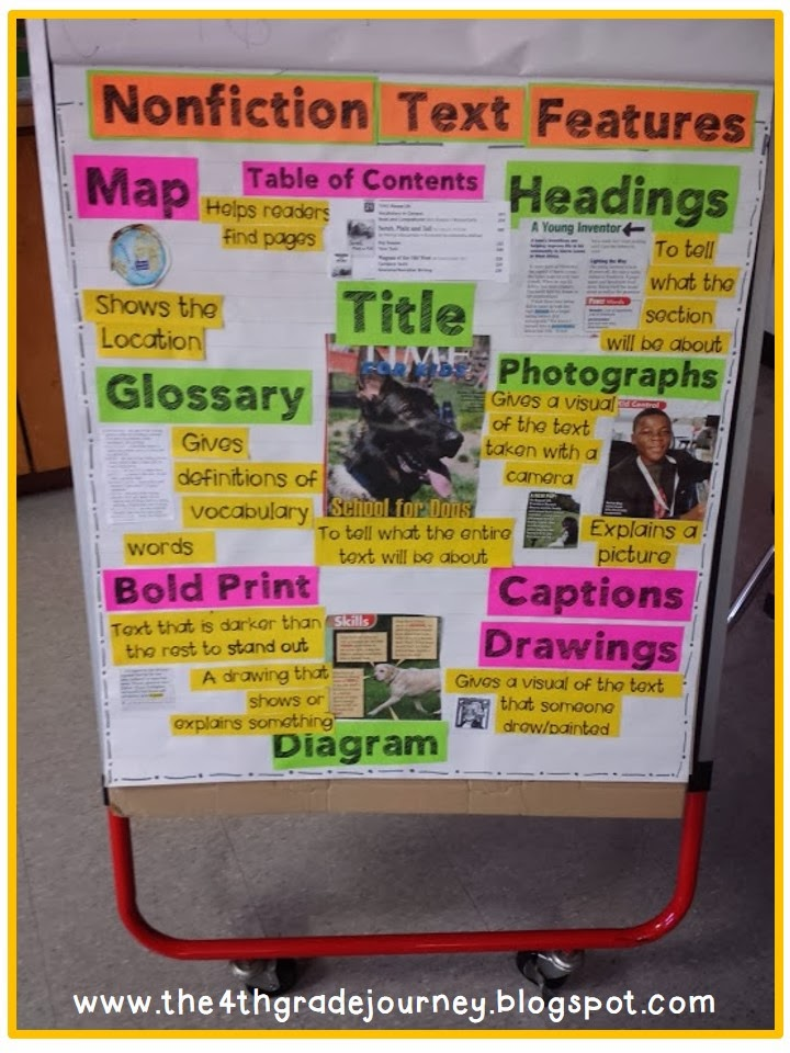 Tried It Tuesday Teaching Text Features on Text Feature Freebie
