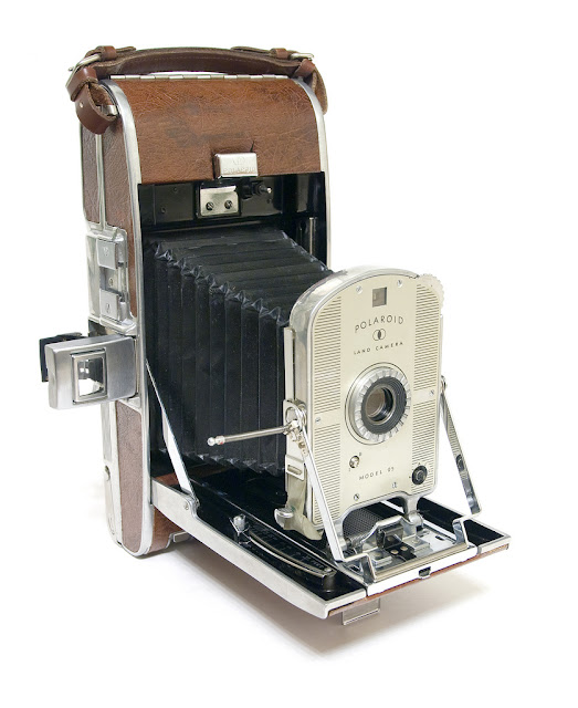 Polaroid Land Camera Model 95. Photo: Eugene Ilchenko