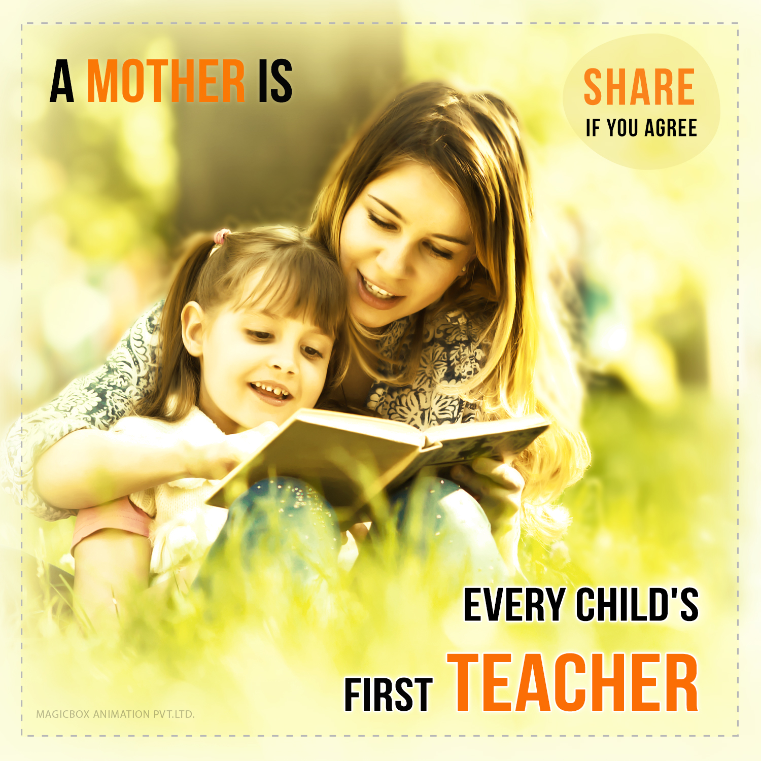 A Mothers Love Quotes 2 Chellame Chellam  Mother's Love  Motherhood  Magicbox Animations