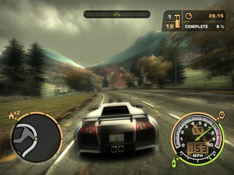 Need for Speed Most Wanted Gameplay Screenshot