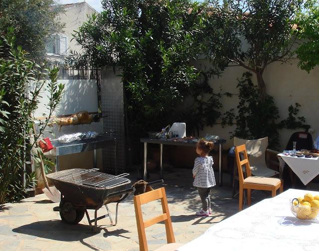 Easter Sunday My garden, Loutraki Greece