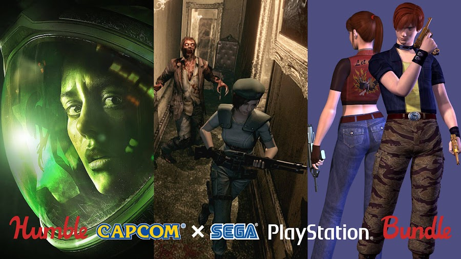 survival horror capcom sega humble bundle