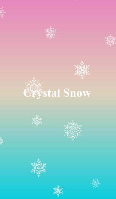 Beautiful Crystal Snow