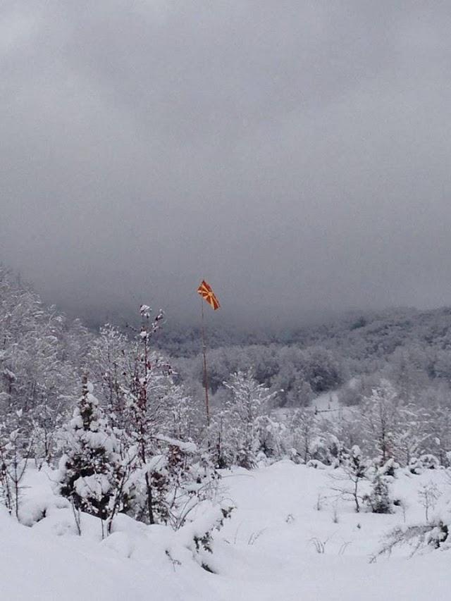 Bild des Tages - Makedonische Sonne im Schnee