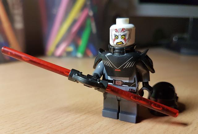 Фигурка лего Гранд-инквизитор, Гранд инквизитор без шлема, Звездные войны, Повстанцы, Стар Варс