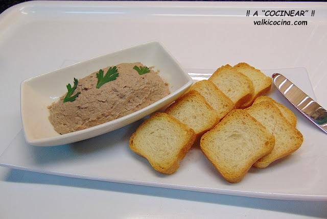 Paté de sardinas casero
