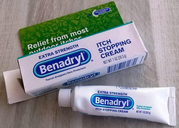 mijn persoonlijke ervaringen: Benadryl cream extra sterk (histamine
