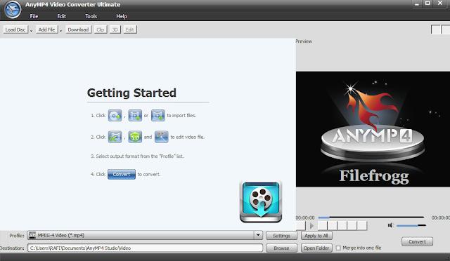 AnyMP4 Video Converter Ultimate Full