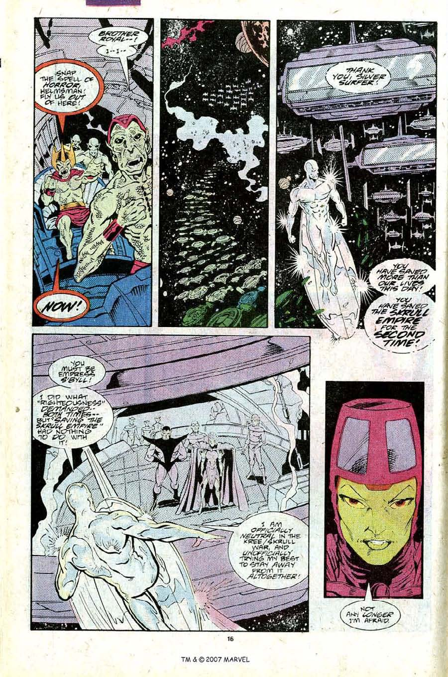 Read online Silver Surfer (1987) comic -  Issue #25 - 18