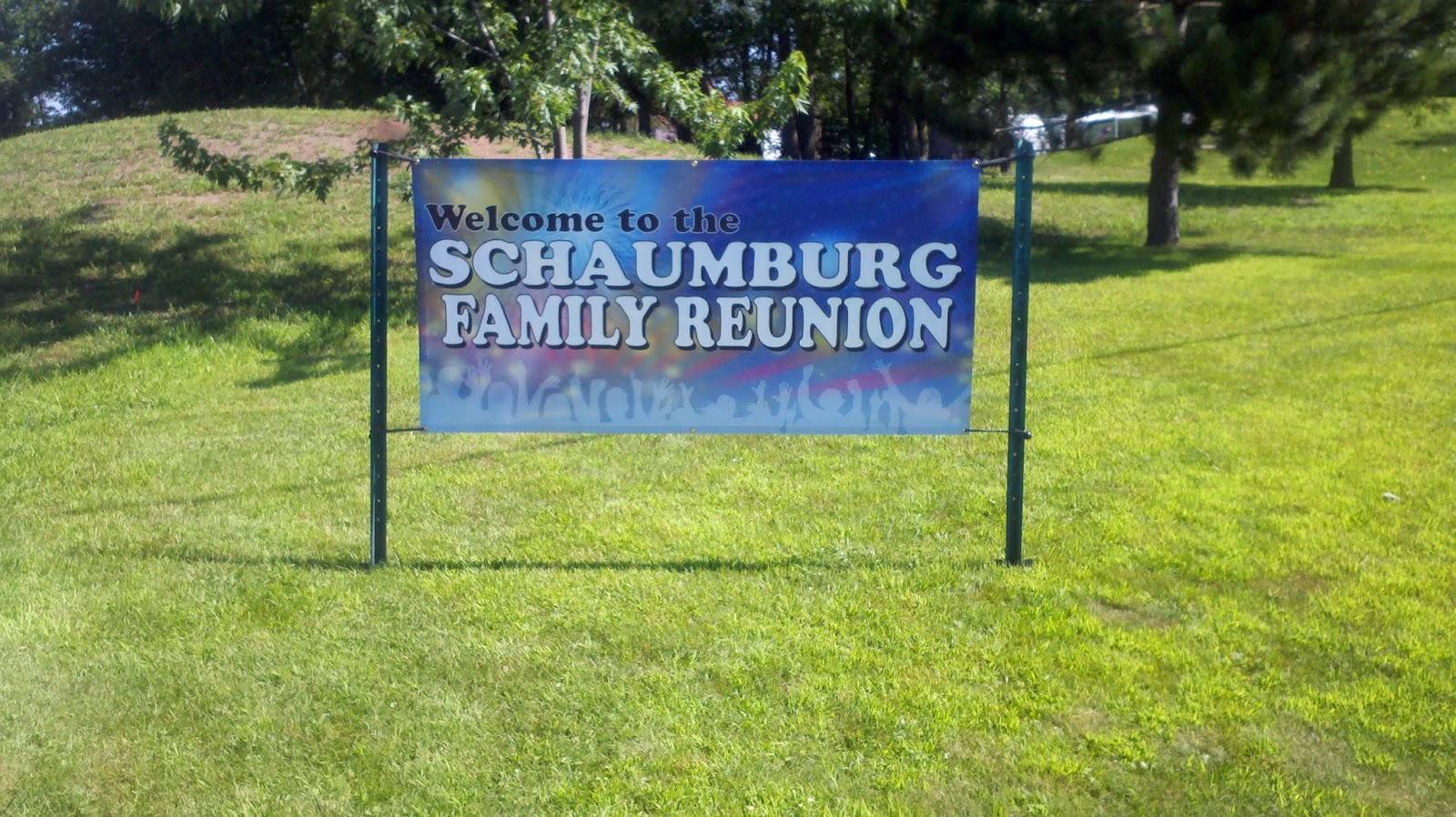 Schaumburg Family Reunion Banner | Banners.com