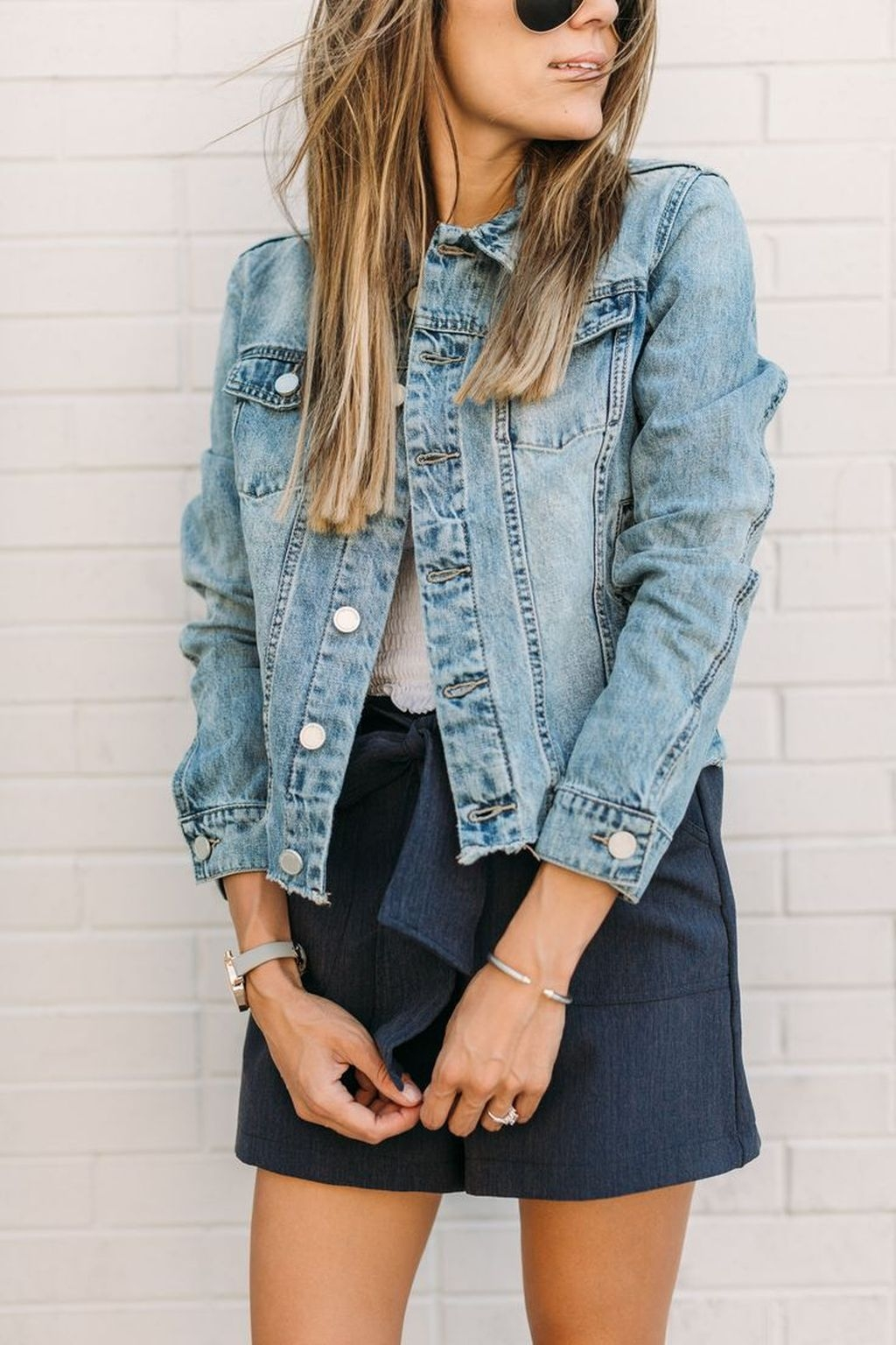 ... filter out the popular denim jackets and its popularity worldwide among those millions of fashion shoppers who are constantly hunting down those unique ... & Trend Fashionist: 46 Amazing Blue Jean Jacket Outfits Ideas for Spring