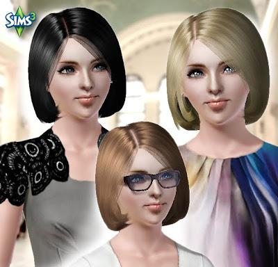 Lo más universal peinados sims 3 Imagen De Cortes De Pelo Tendencias - Sims 3 Peinados para el juego | Luciana Rock