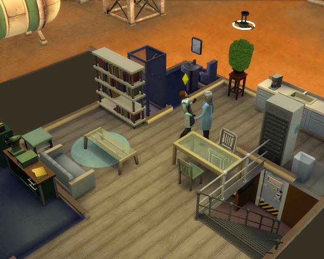 The sims 4 | Scientist Job