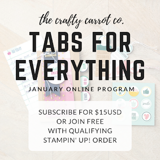 Tabs for Everything Promo - The Crafty Carrot Co.