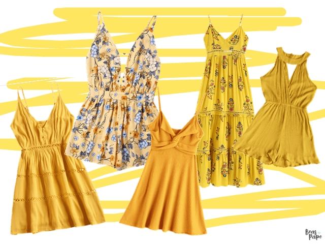 MODA: Inspire-se nos looks amarelo