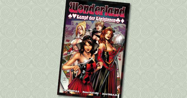 Wonderland 11 Panini Cover