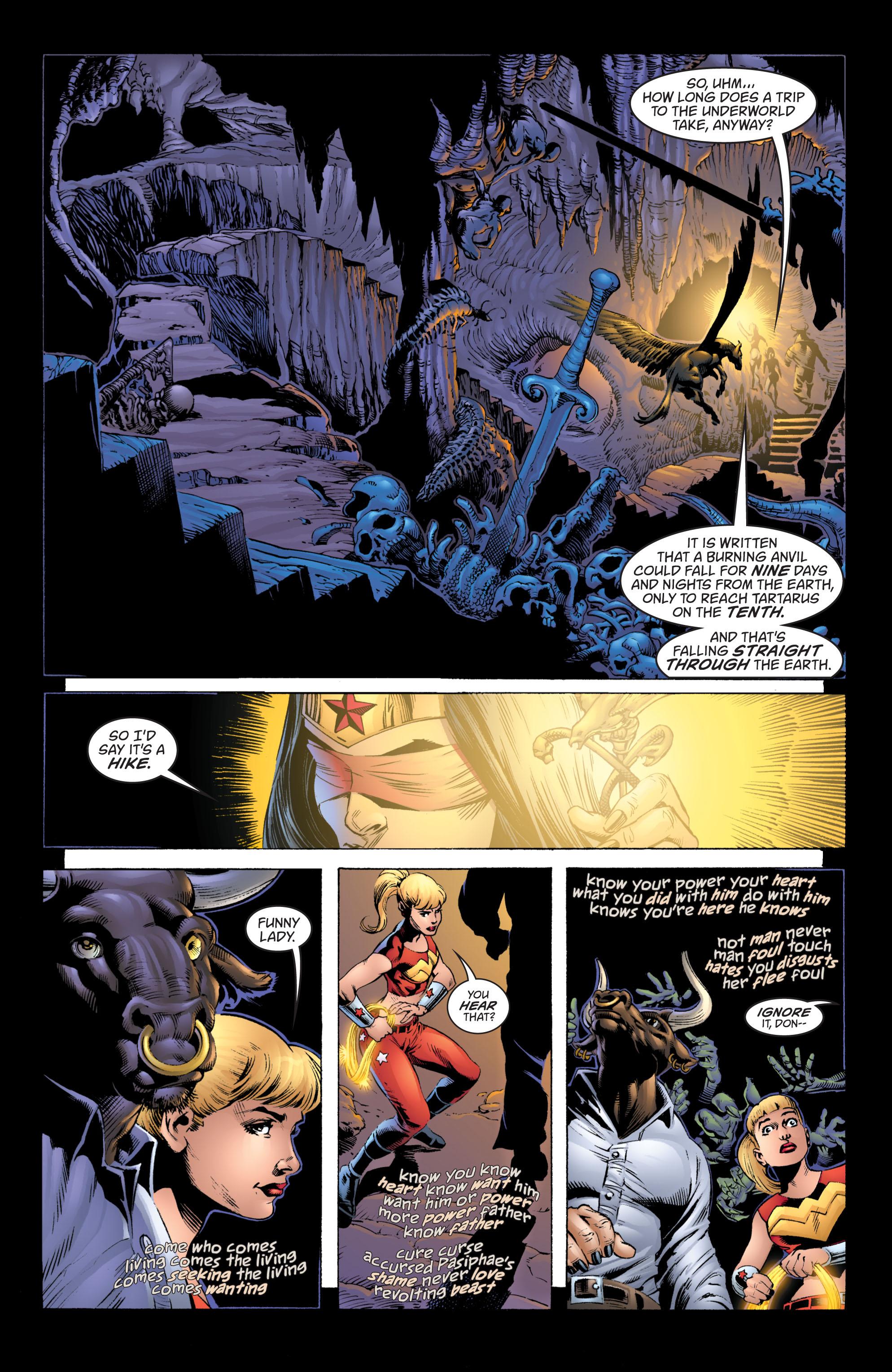 Read online Wonder Woman (1987) comic -  Issue #215 - 21