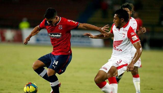 Ver partido Medellin vs Santa Fe en vivo