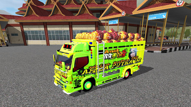 Mod New Canter Muat Sawit V2 Bussid By BMI