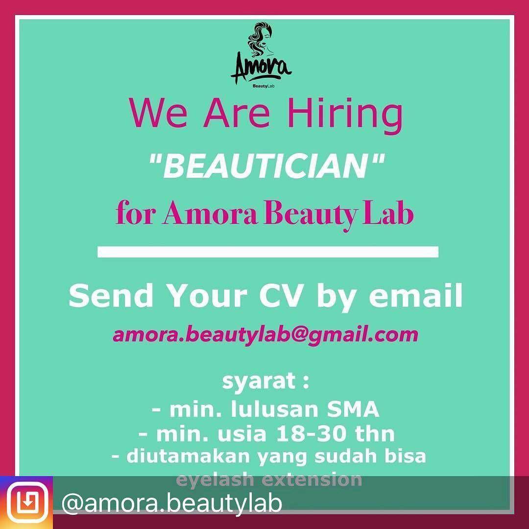 Lowongan Kerja Amora Beauty Lab Bandung November 2017