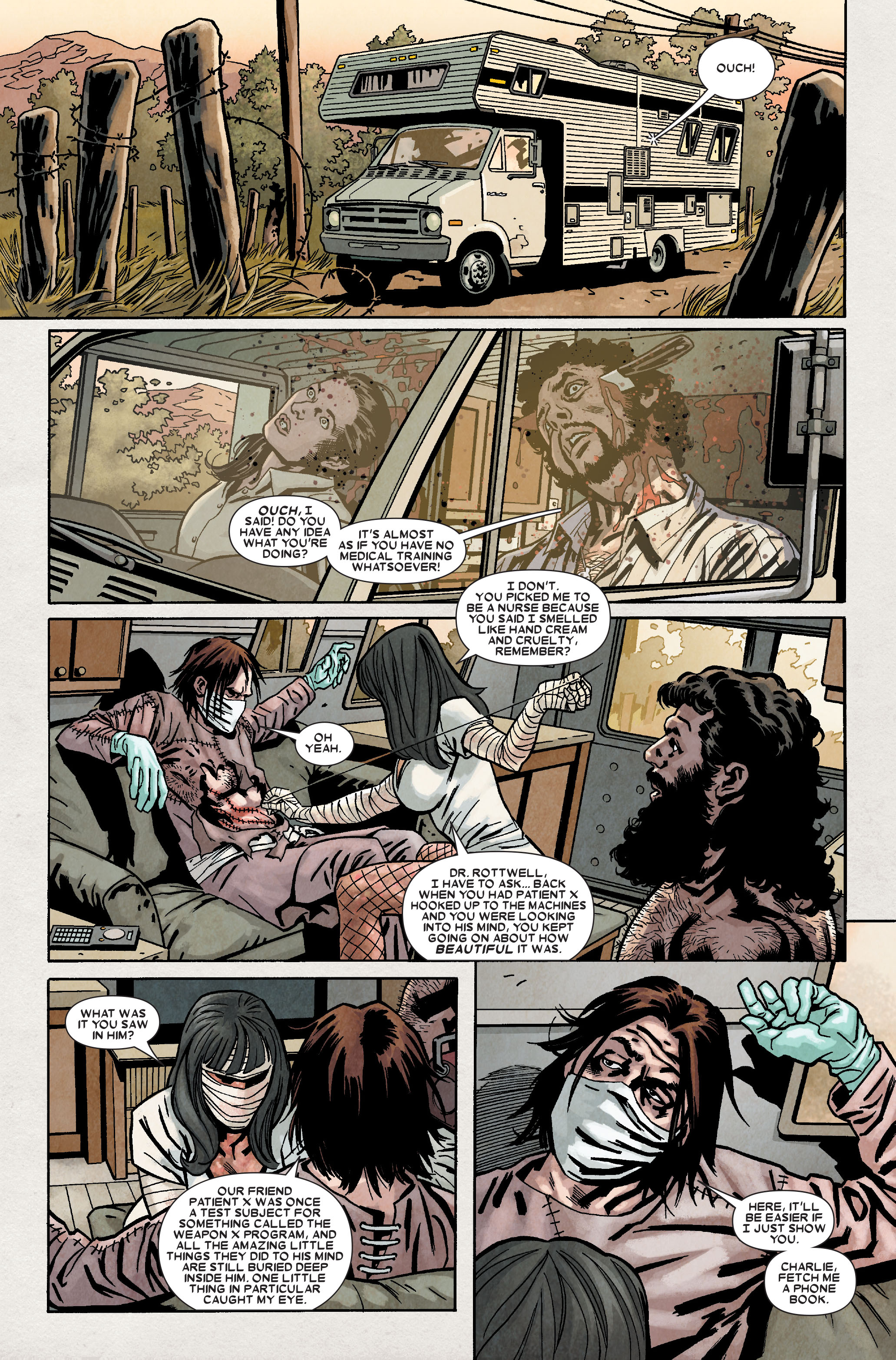 Read online Wolverine: Weapon X comic -  Issue #9 - 21