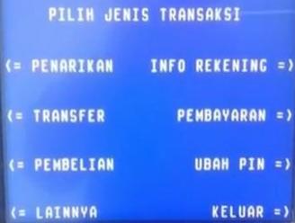 Proses Cara Transfer Uang Lewat ATM BRI ke Mandiri & KODE ...