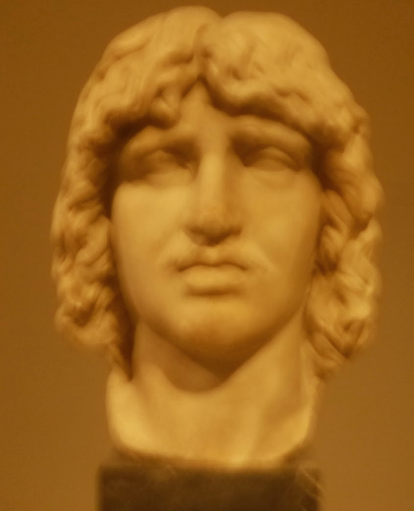Barbarian Bust - Bendigo Art Gallery