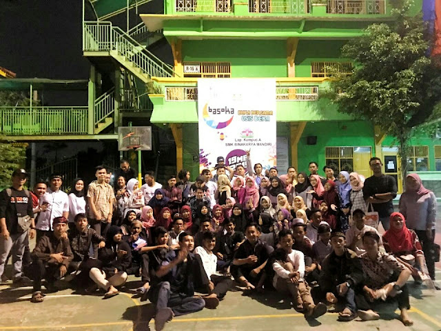Osis SMK BKM bersama AtmaGo lakukan buka bersama alumni