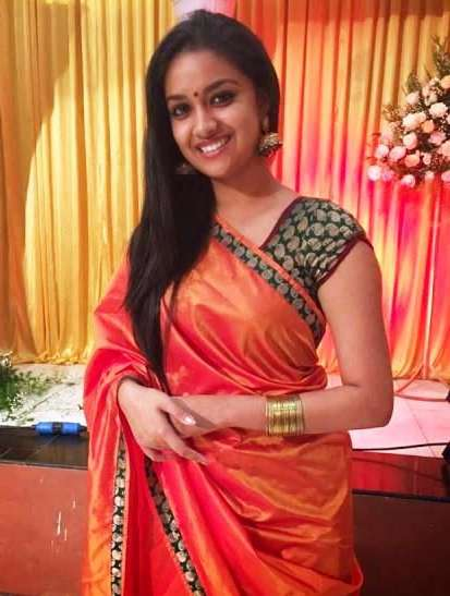 South Indian Actress Keerthi Suresh HD Pics