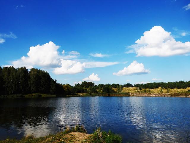 Przydrożne jeziorko w okolicach Briańska