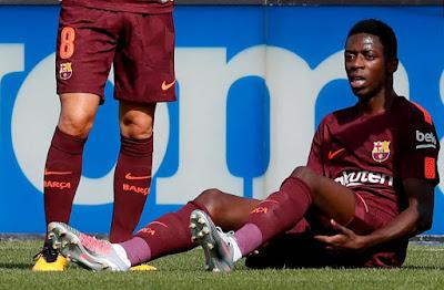 """""""Bom tấn"""" của Barca gặp chấn thương vì kỷ lục chuyển nhượng"""