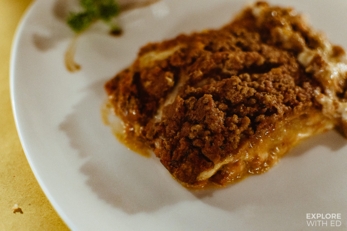 Pane Vino e San Daniele Lasagne, Best restaurants in Venice loved by locals